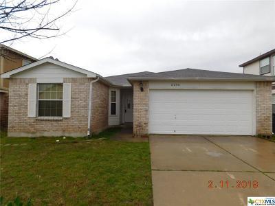 Killeen Single Family Home For Sale: 2206 Mikulec Drive