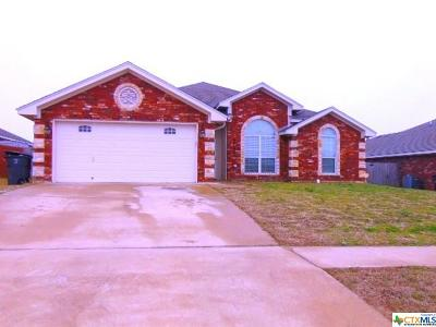 Killeen Single Family Home For Sale: 3704 Republic Of Texas Drive
