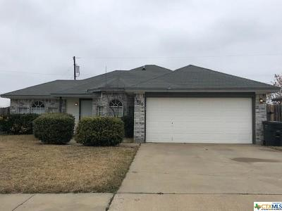 Killeen Single Family Home For Sale: 3409 Crescent Drive