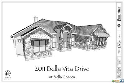 Nolanville Single Family Home For Sale: 2011 Bella Vita Drive