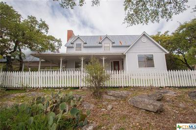 Canyon Lake TX Single Family Home For Sale: $337,000