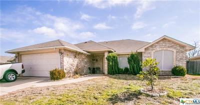 Killeen Single Family Home For Sale: 3712 Foxglove Lane