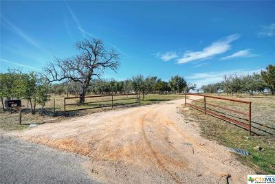 Burnet County Single Family Home For Sale: 7200 County Road 101