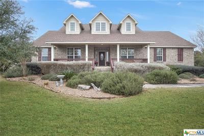 Canyon Lake Single Family Home For Sale: 2009 Comal Springs