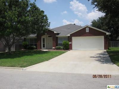Harker Heights Rental For Rent: 2112 Thunderbird
