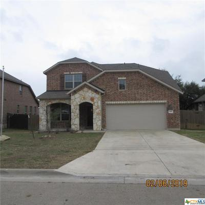 Harker Heights Single Family Home For Sale: 804 Cathedral Court