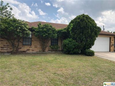 Copperas Cove Single Family Home For Sale: 203 Chestnut Drive