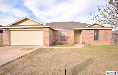 Killeen Single Family Home For Sale: 3901 Frigate