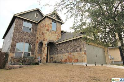 Killeen Single Family Home For Sale: 3412 Greyfriar