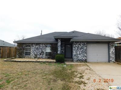 Killeen Single Family Home For Sale: 3503 Warfield