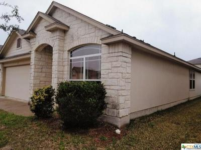 Killeen Single Family Home For Sale: 4606 Lookout Mountain Lane