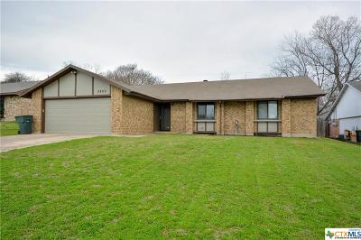Temple TX Single Family Home Pending: $129,900