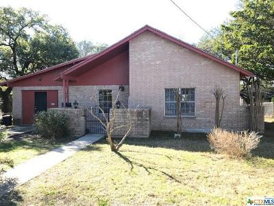 Lampasas Single Family Home For Sale: 504 S Spring Street