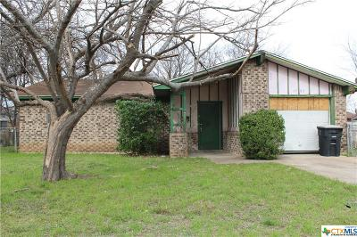 Killeen Single Family Home For Sale: 1503 S Ws Young