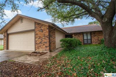 Killeen TX Single Family Home For Sale: $87,000