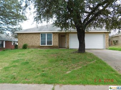 Copperas Cove Single Family Home For Sale: 203 Bronc