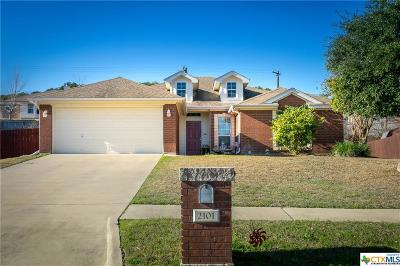 Copperas Cove Single Family Home For Sale: 2101 Indian Camp Trail