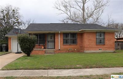 Killeen Single Family Home For Sale: 2309 Rachael