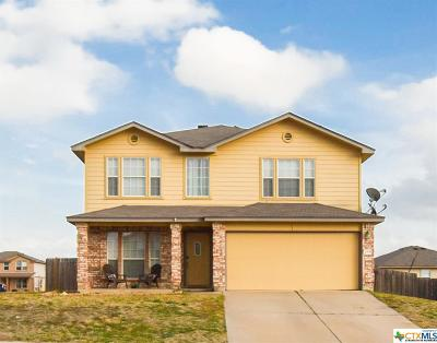 Copperas Cove Single Family Home For Sale: 2008 Ryan Drive