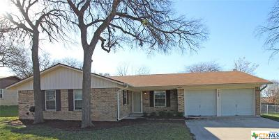 Copperas Cove TX Single Family Home For Sale: $122,900