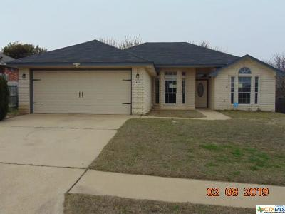 Killeen TX Single Family Home For Sale: $109,500