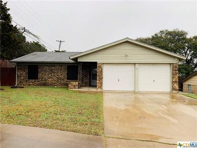 Copperas Cove Single Family Home For Sale: 1802 Wanda Street