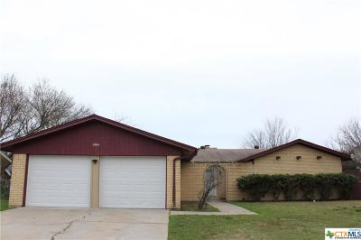 Killeen Single Family Home For Sale: 1904 Standridge