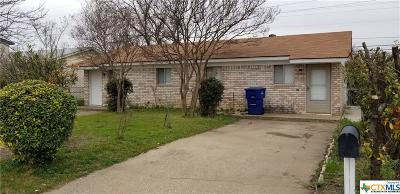 Copperas Cove Multi Family Home For Sale: 504 Sunset #A-B