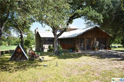 Lampasas County Single Family Home For Sale: 871 Fm 2313