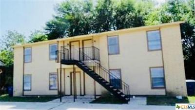 Copperas Cove Multi Family Home For Sale: 204 Erby Street #A-D
