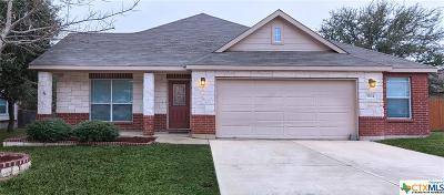 Killeen Single Family Home For Sale: 5804 Bedrock Drive