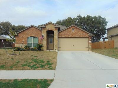 Copperas Cove Single Family Home For Sale: 1430 Lubbock Drive