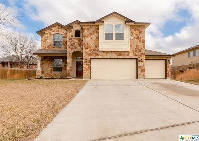 Harker Heights Single Family Home For Sale: 1910 Deer Field