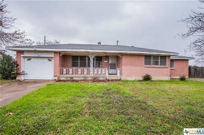 Killeen Single Family Home For Sale: 2807 Hillside
