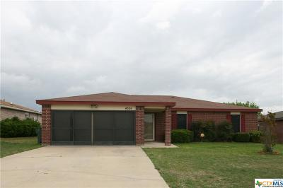 Killeen Single Family Home For Sale: 4301 Secretariat Drive