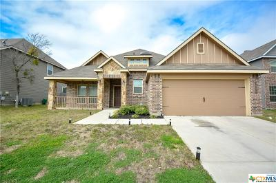 Killeen Single Family Home For Sale: 3609 Castleton