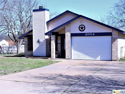 Killeen Single Family Home For Sale: 2004 Eisenhower