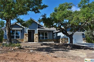 Canyon Lake Single Family Home For Sale: 484 Bluebonnet Breeze