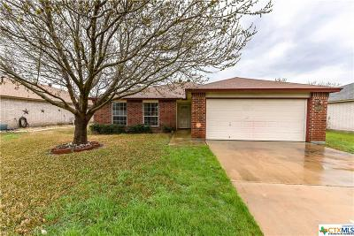 Killeen Single Family Home For Sale: 5204 Two Step Place