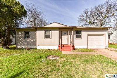 Killeen TX Single Family Home For Sale: $54,900