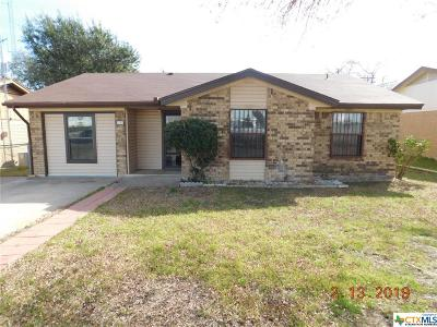 Killeen TX Single Family Home For Sale: $89,900