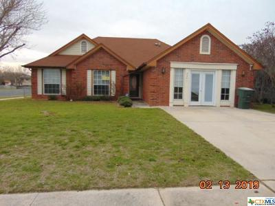 Killeen TX Single Family Home For Sale: $64,500