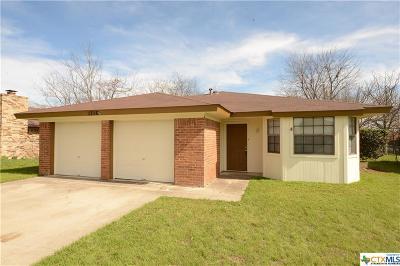 Killeen Single Family Home For Sale: 1710 Moonlight