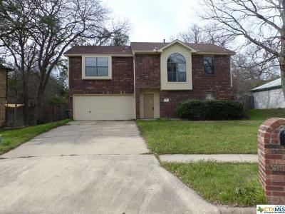 Copperas Cove TX Single Family Home For Sale: $95,000