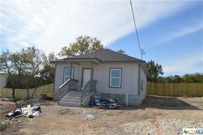 Canyon Lake TX Single Family Home For Sale: $143,900