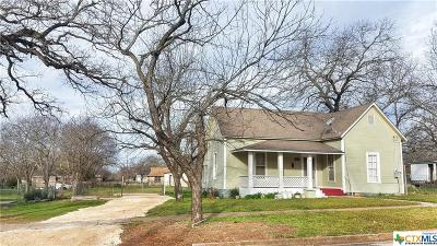 Gatesville TX Single Family Home For Sale: $83,000