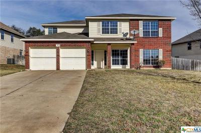 Harker Heights Single Family Home For Sale: 313 Crowfoot