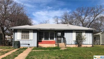 Killeen Single Family Home For Sale: 605 E Dean Avenue