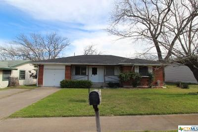 Copperas Cove TX Single Family Home For Sale: $41,900