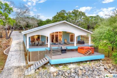 Canyon Lake TX Single Family Home For Sale: $435,000